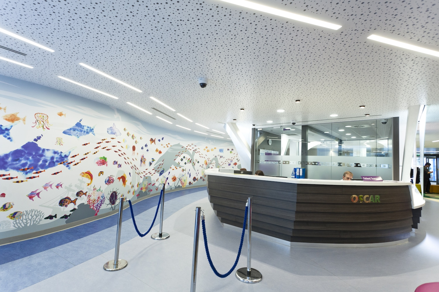 Gt Ormond Street Hospital Reception Area