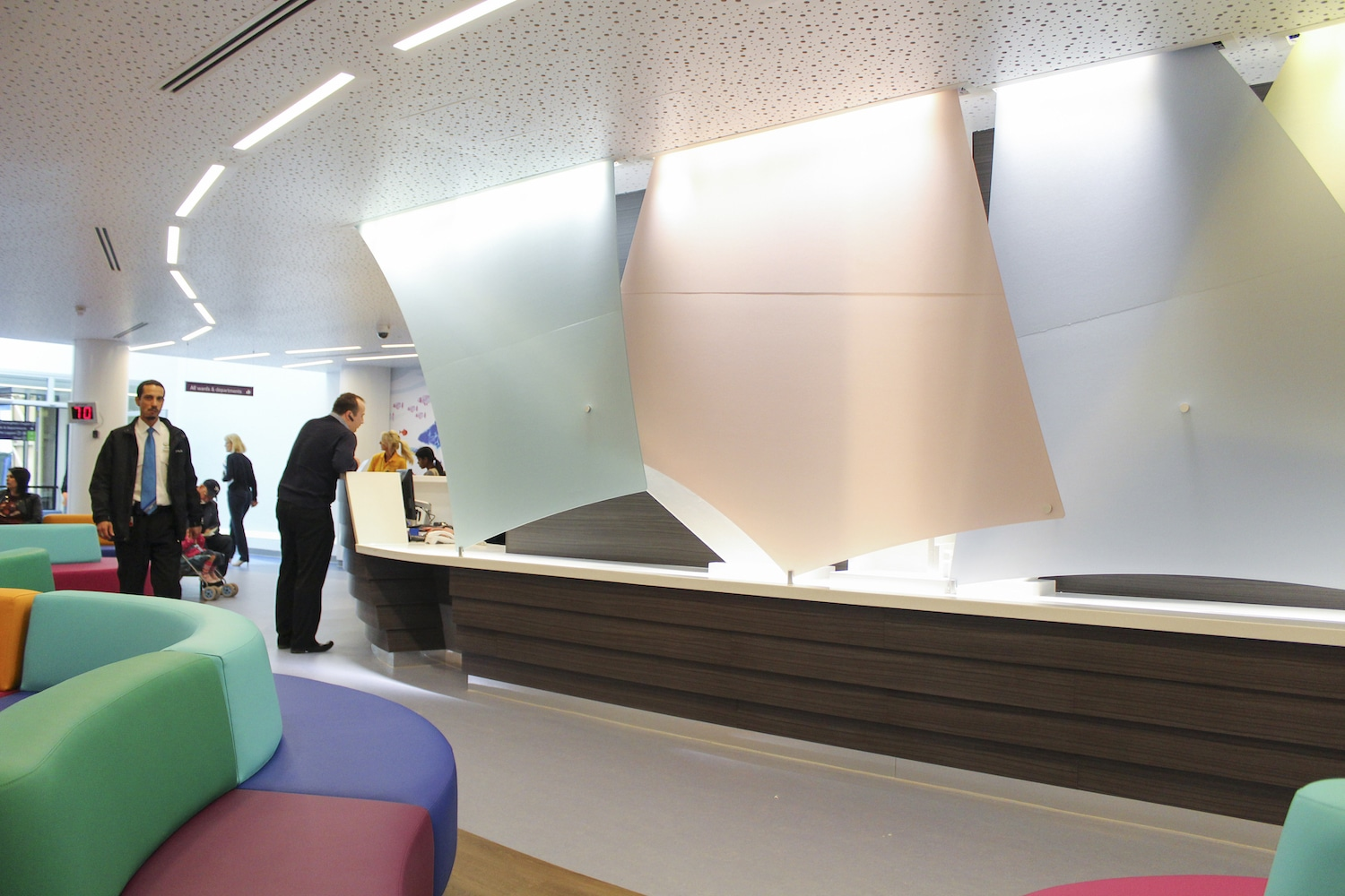 Gt Ormond Street Hospital Reception
