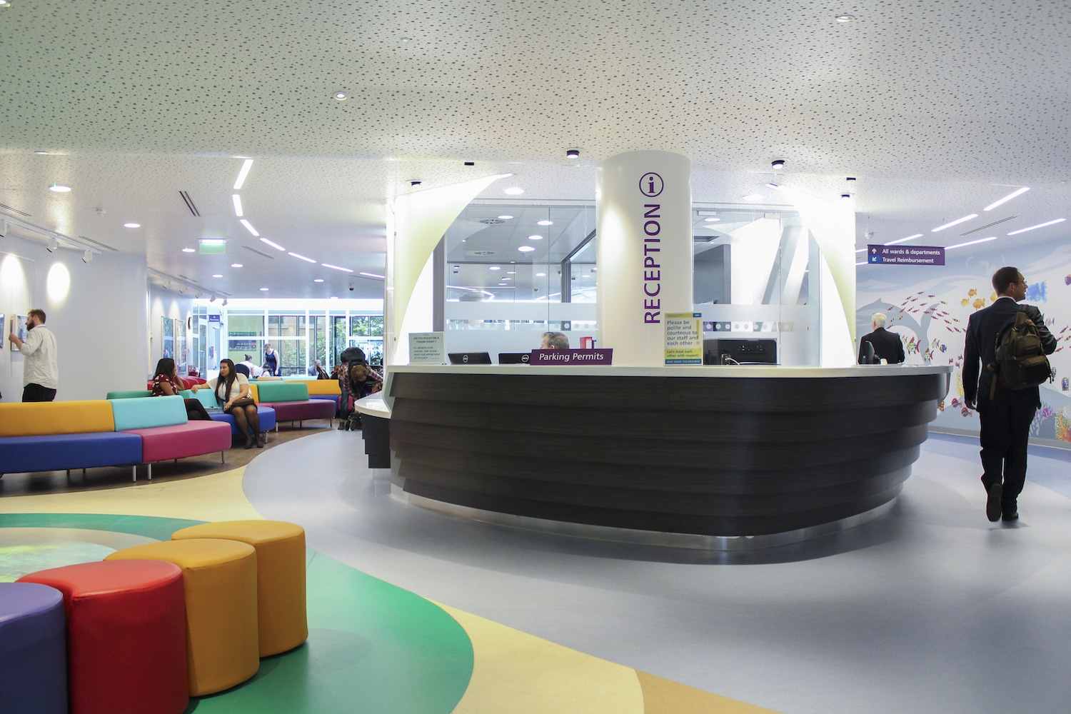 Gt Ormond Street Hospital Main Reception