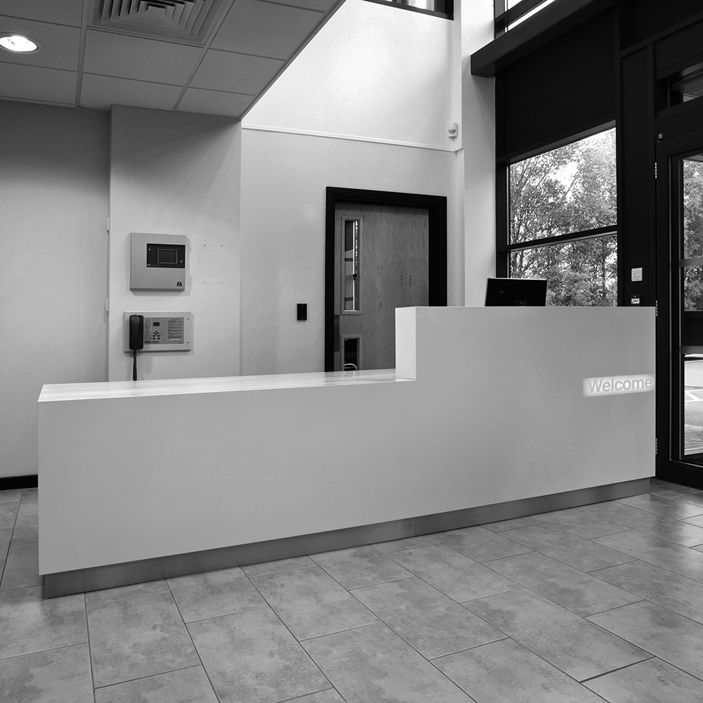 receptek block reception desk 4