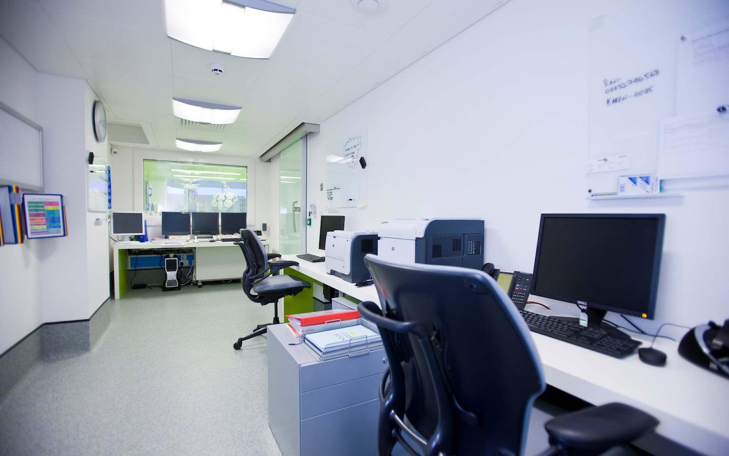 Empty office at Harley St Private Hospital